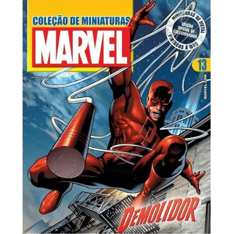 Miniatura Demolidor - Marvel - Eaglemoss - Escala 1/21 - 10692