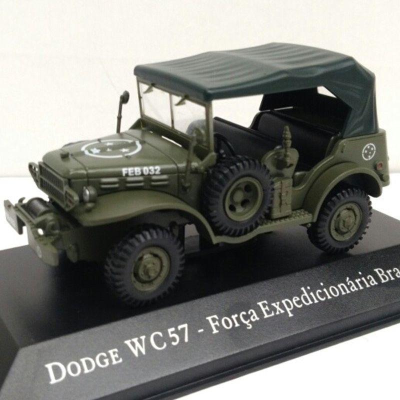 Miniatura Dodge WC57 Força Expedicionária - veículo de Serviço - escala 1/43 - 10090