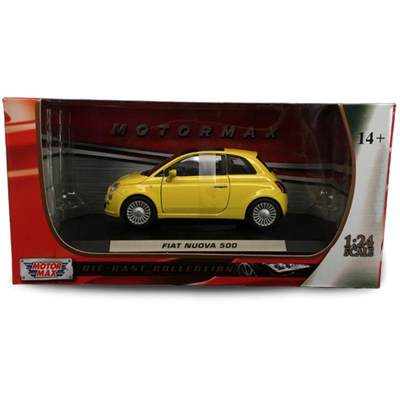 Miniatura Fiat Nuova 500 - Motormax - escala 1/24 - 10261