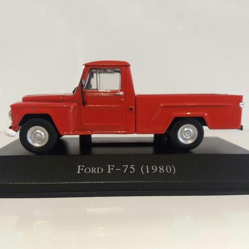 Miniatura Ford F-75 1980 - Deagostini - escala 1/43 - 9354