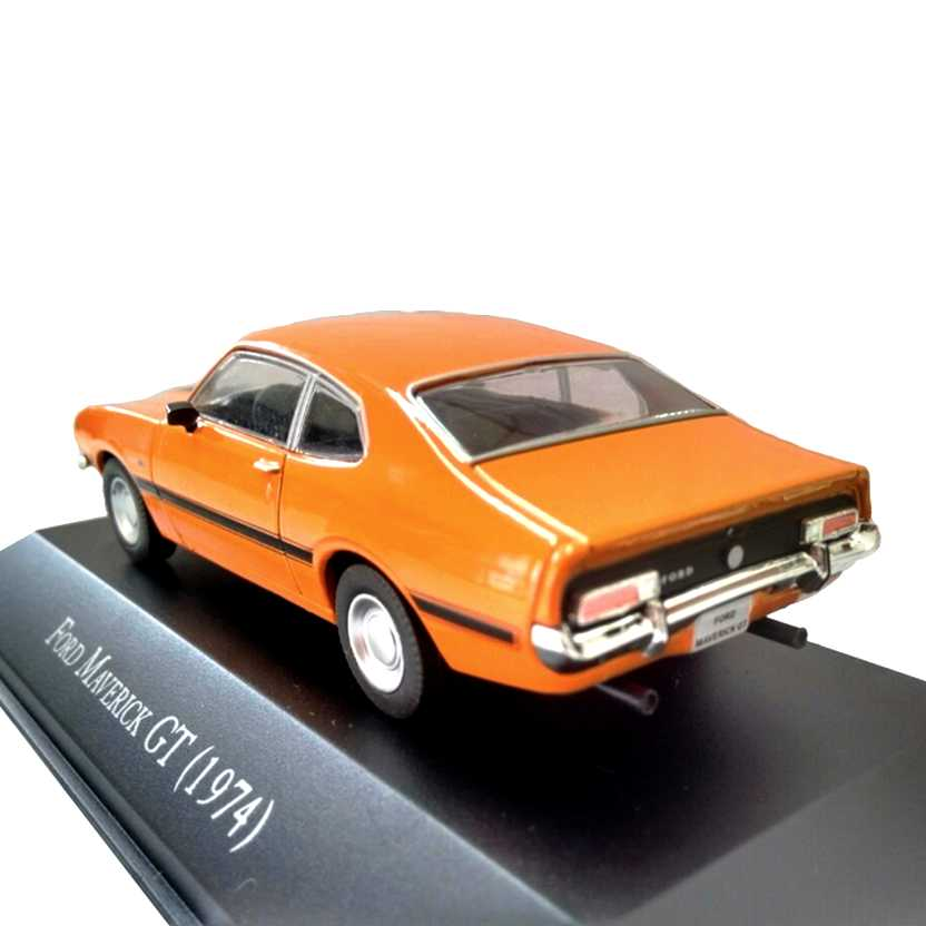 Miniatura Ford Maverick GT 1974 - Deagostini - escala 1/43 - 9566