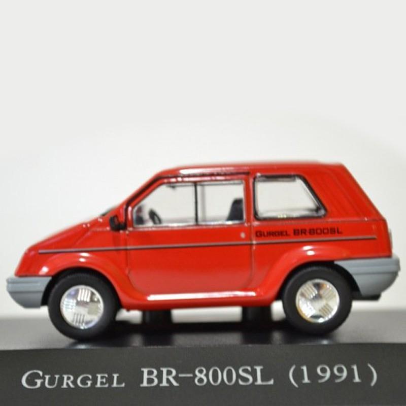Miniatura Gurgel BR-800 SL 1991 - Deagostini - escala 1/43 - 10164