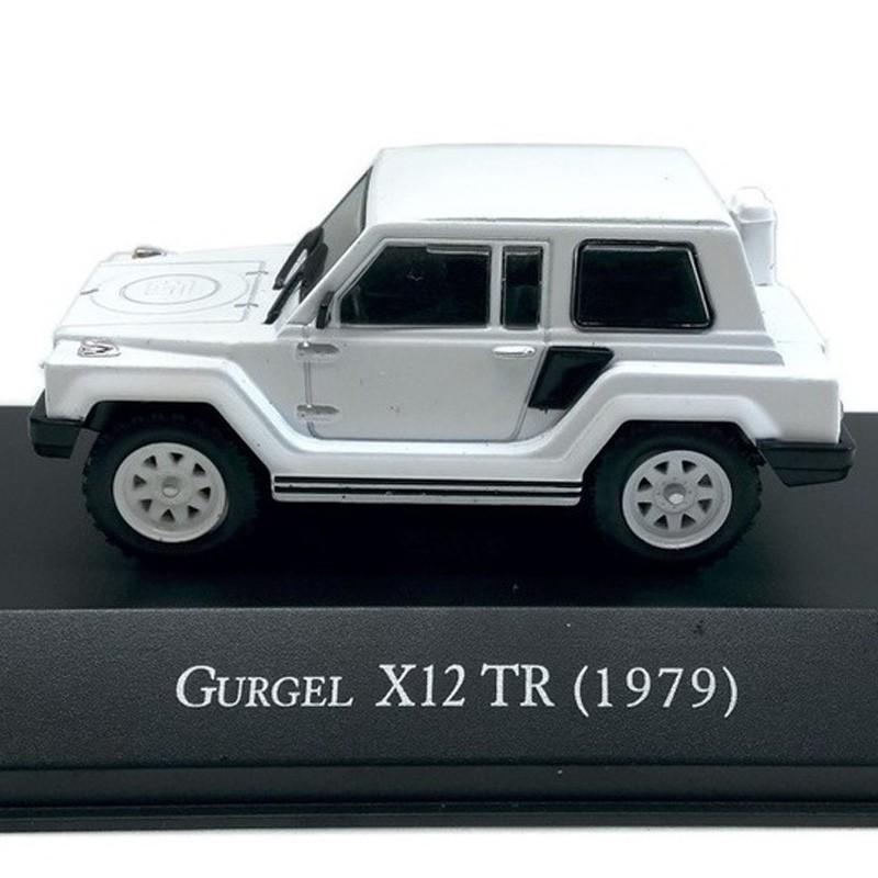 Miniatura Gurgel X12 TR 1979 - 1/43 - Deagostini - 10526