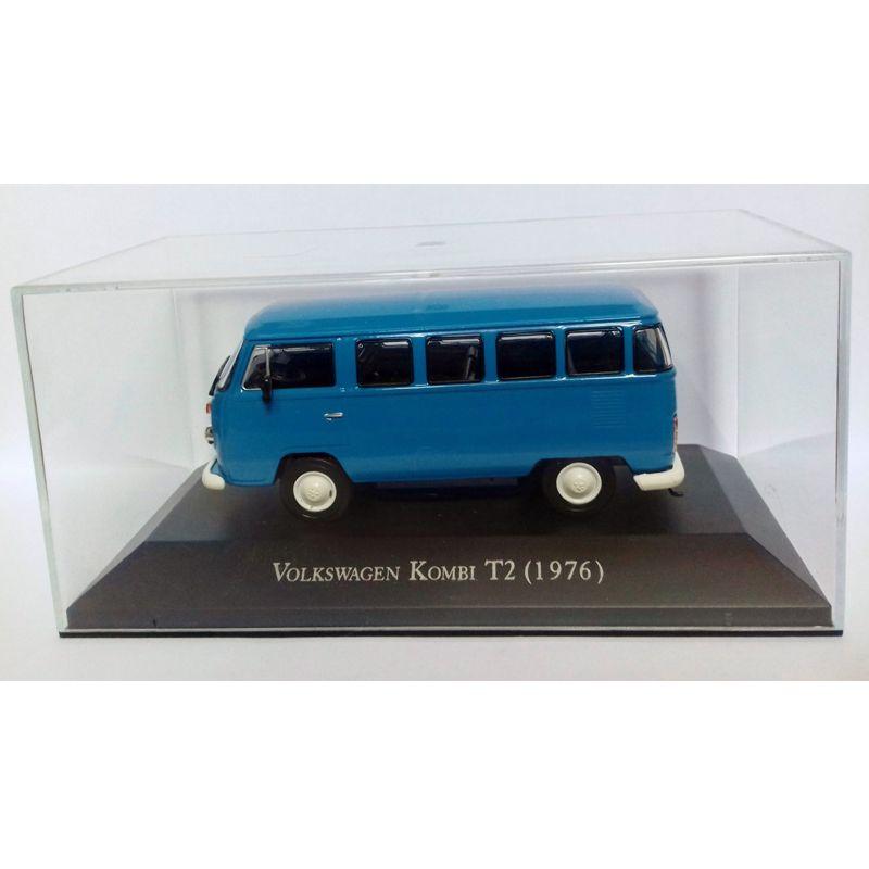 Miniatura Kombi T2 1976 - escala 1/43 - Deagostini  9531