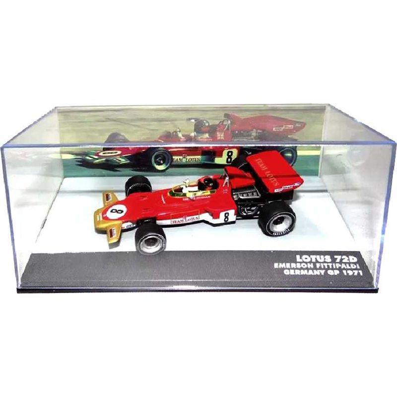 Miniatura Lotus Ford 72C Emerson Fittipaldi -escala 1/43 - 10652