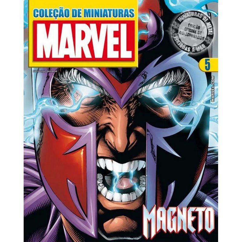 Miniatura Magneto - Marvel - Eaglemoss - Escala 1/21 - 10693