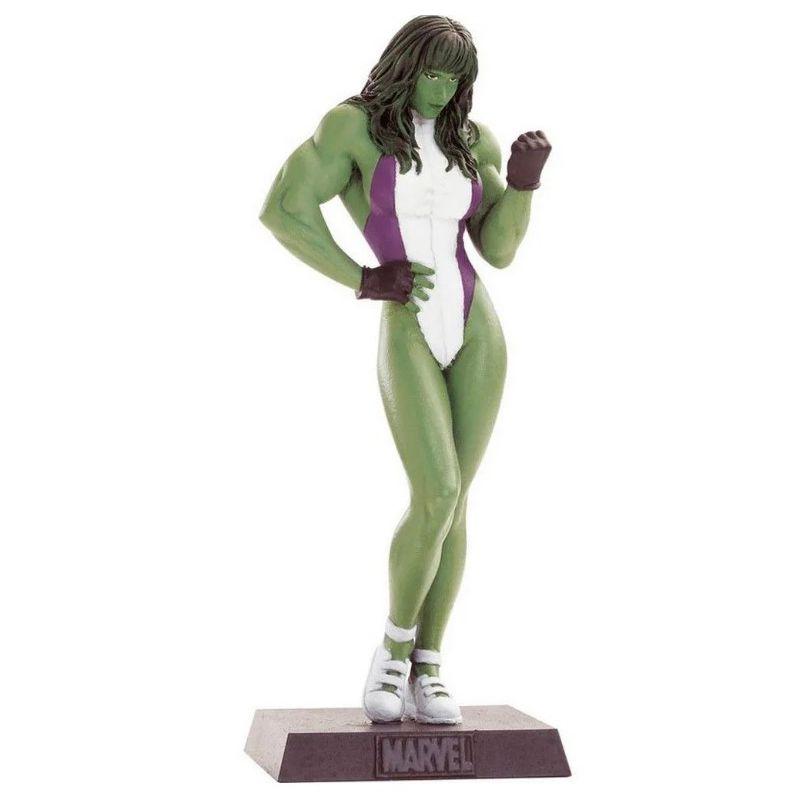 Miniatura Mulher Hulk - Marvel - Eaglemoss - Escala 1/21 - 10699