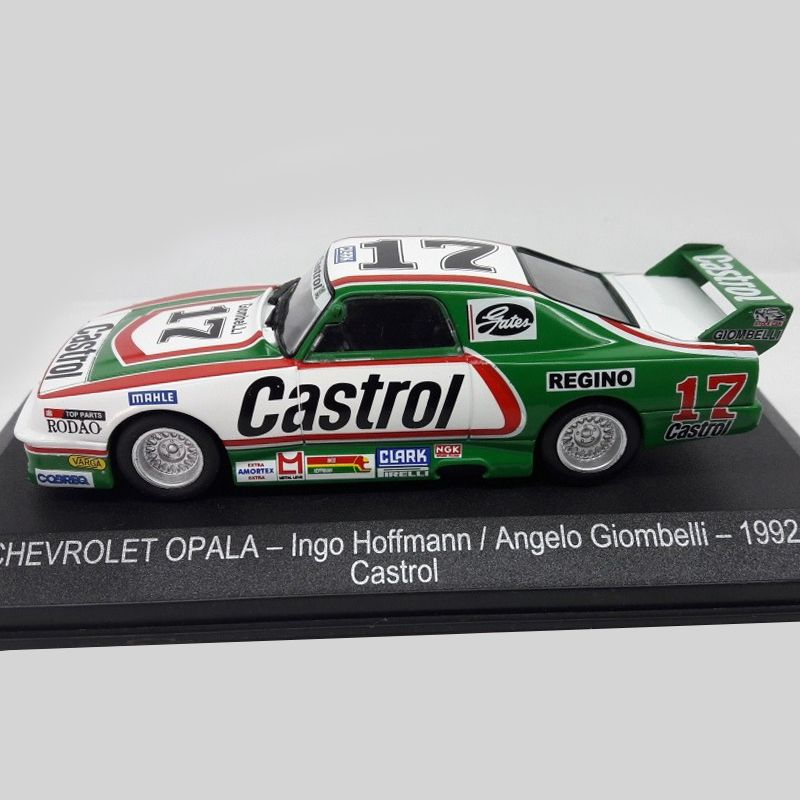 Miniatura Opala 1992 #17 - Ingo Hoffman - Castrol - Escala 1/43 - 10670