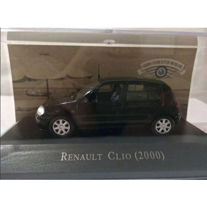 Miniatura Renault Clio 2000 - Deagostini - escala 1/43 - 9667
