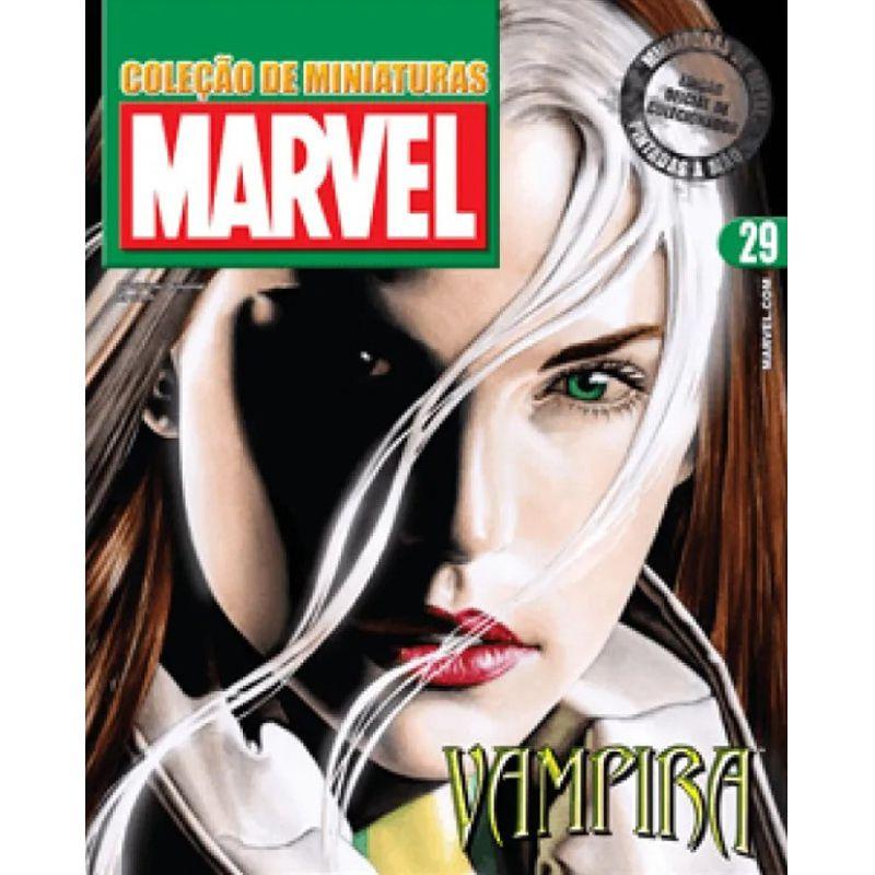 Miniatura Vampira - Marvel - Eaglemoss - Escala 1/21 - 10695