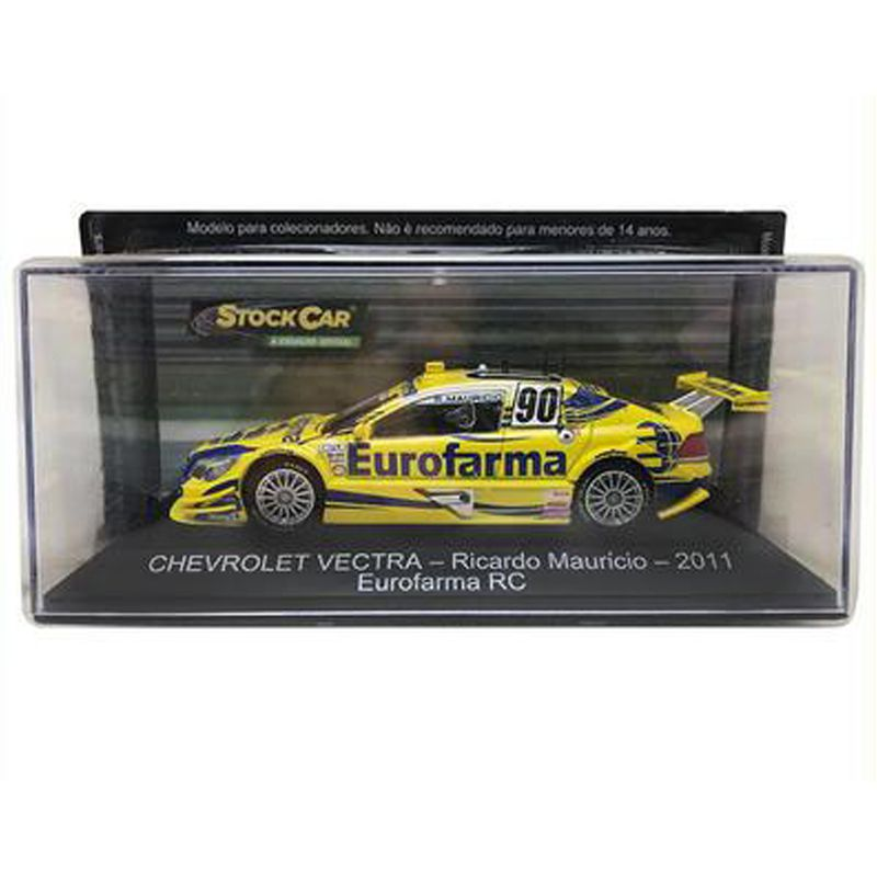 Miniatura Vectra 2011 #90 - Ricardo Mauricio - Eurofarma - Escala 1/43 - 10664