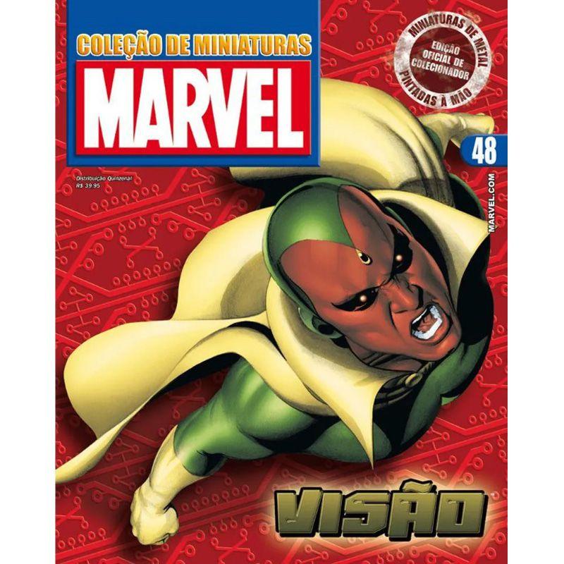 Miniatura Visão - Marvel - Eaglemoss - Escala 1/21 - 10702
