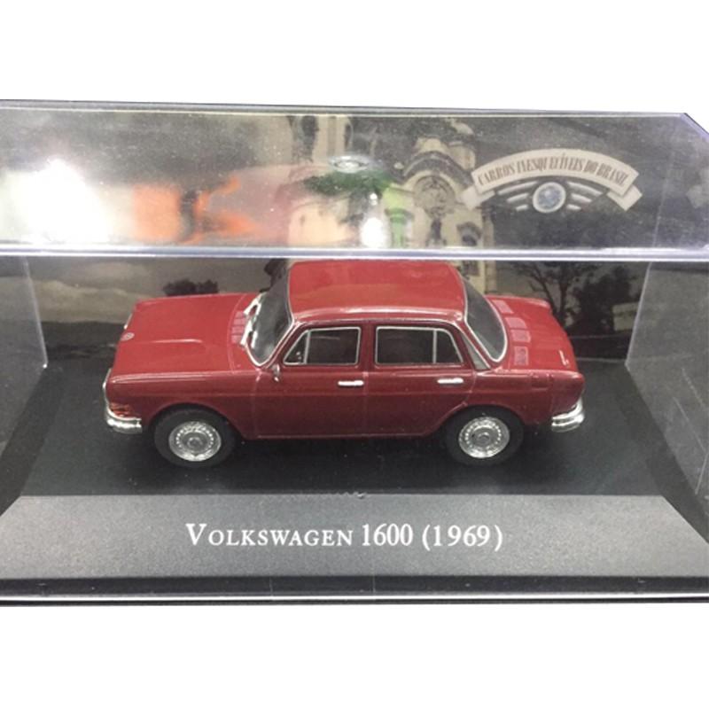 Miniatura Vw 1600 Zé Do Caixão-esc1/43-deagostini- 9636