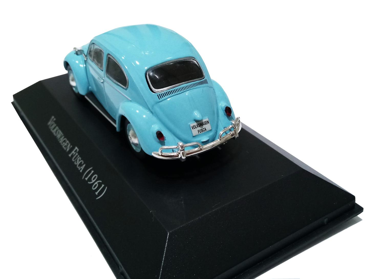 Miniatura VW Fusca 1961 - Deagostini - escala 1/43 - 9529