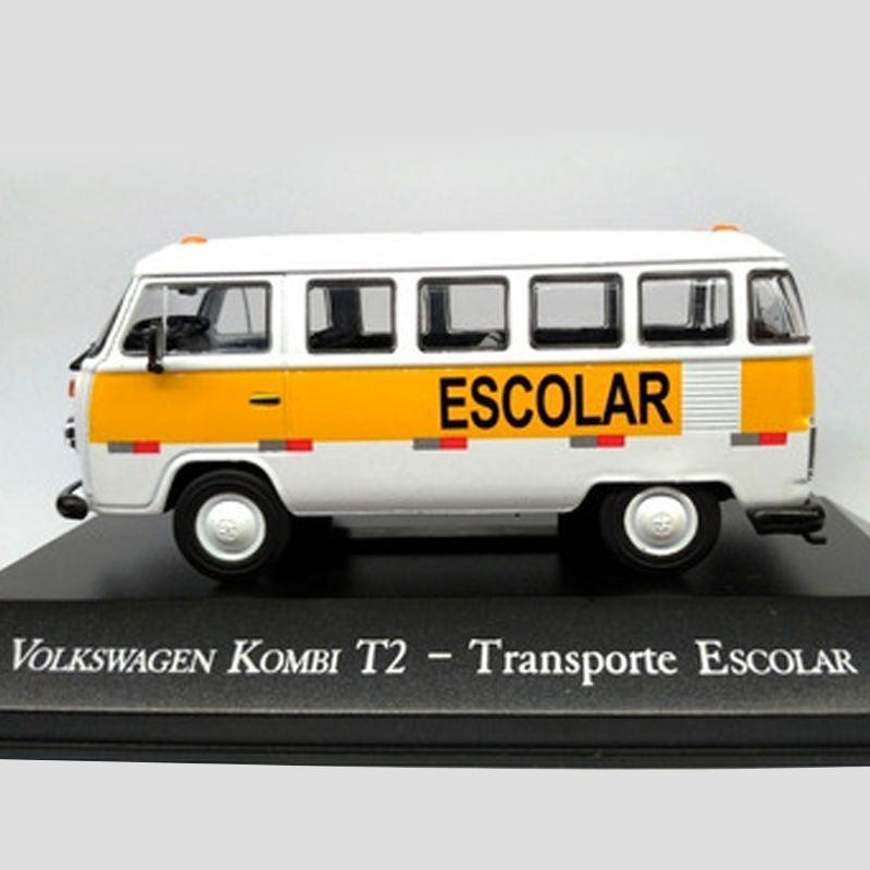 Miniatura VW Kombi T2 Escolar - veículo de Serviço - escala 1/43 - 9532