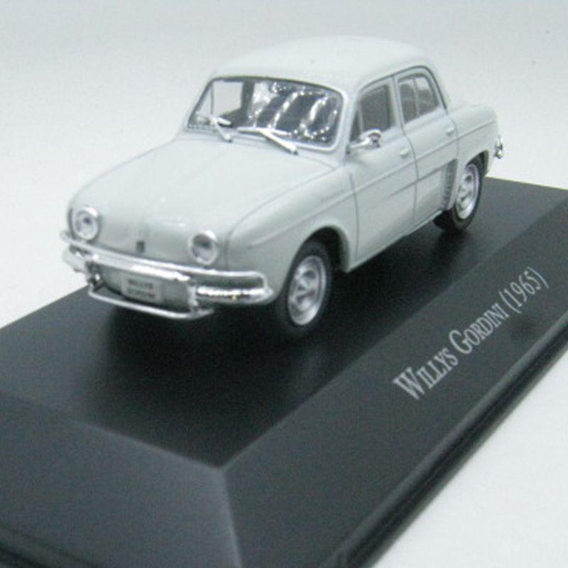 Miniatura Willys Gordini 1965-1/43-deagostini- 9587