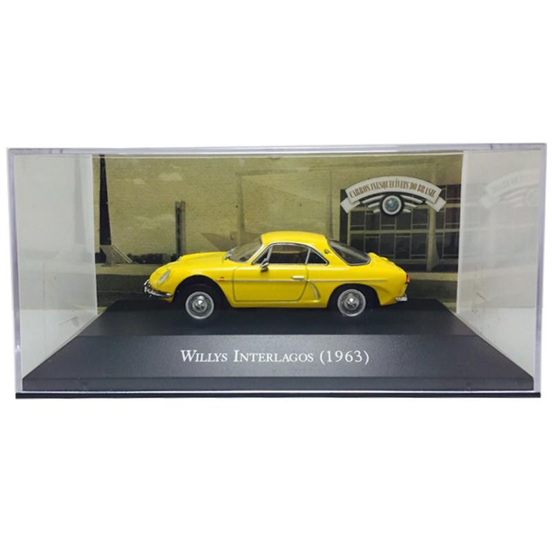 Miniatura Willys Interlagos 63-esc1/43-deagostini 9589