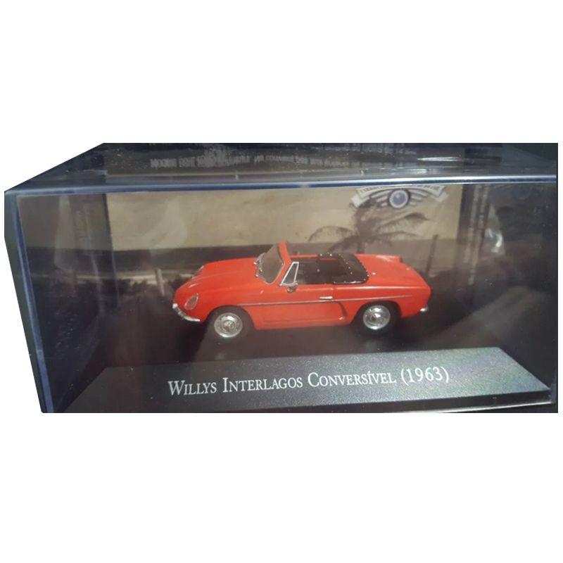 Miniatura Willys Interlagos Conv.1966-deagostini-1/43- 9655