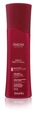 Shampoo Realce da Cor Vermelha Red Revival Amend - 250ml - 50009