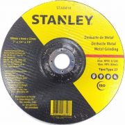 Disco Desbaste 7Pol 178mm x 6.4mm x 22.2mm STA0414 - Stanley