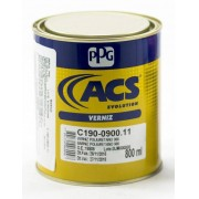 KIT Verniz PU 0900 800ml ACS + Catalisador Endurecedor Para Verniz PU0900 100ML- PPG