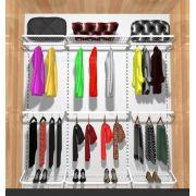 Closet Aramado Modular 2,10 Larg X 2 Mt Altura X 0,40 Cm