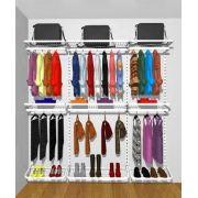 Closet Aramado Modular Guarda Roupa 210 Cm X 200 Cm X 40 Cm