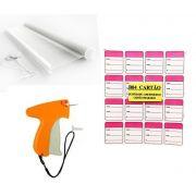 kit Aplicador  = 1000   Etiquetas  + 1000  Pinos bola 40 mm  + 01  Aplicador com Agulha