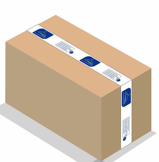 Arara  Rt Para Painel  Caixa com 10 unidades Branco  40  cm