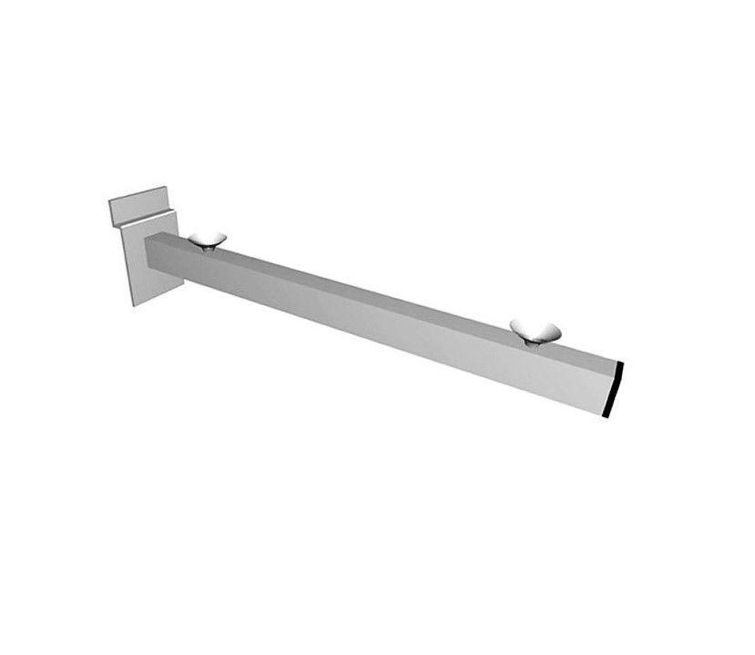 Braço Suporte Painel Para vidro tubo 10 x 20  com Ventosa 30 cm Caixa  com 20  Unidades