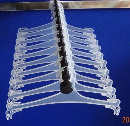 Cabide Para Lingerie Calcinha Cueca Flexivel 27 cm  Caixa Com 220