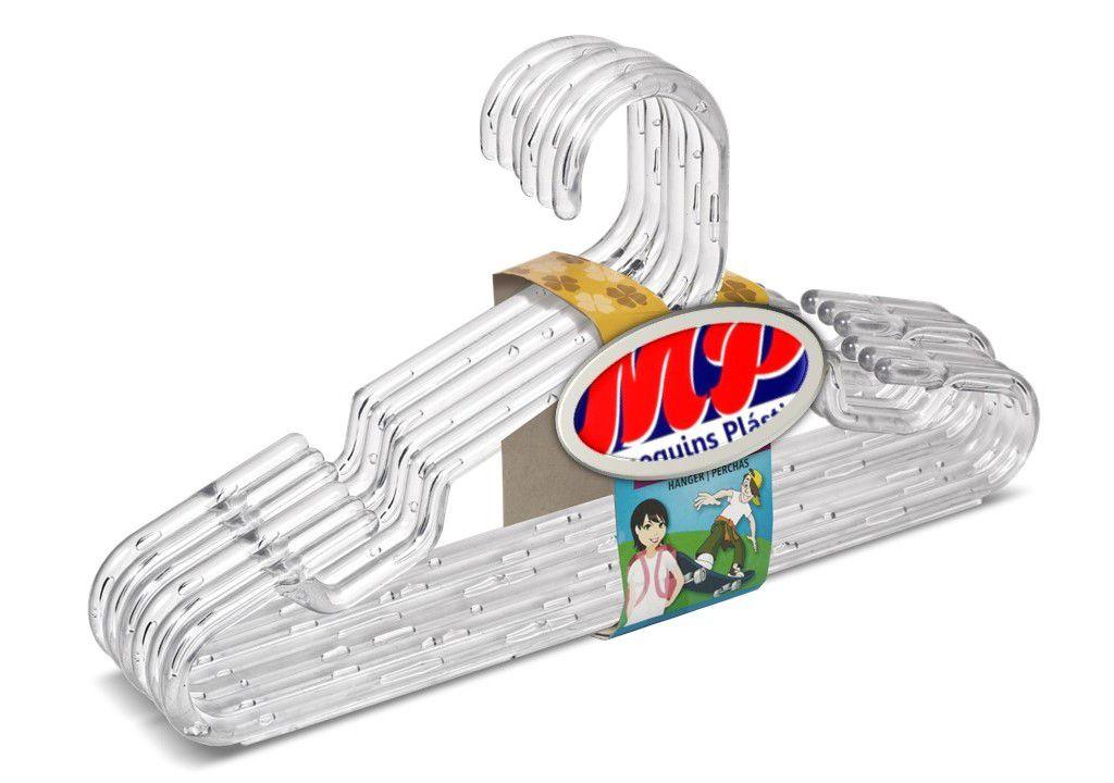 Cabides Infantil e Bebe  Acrílico  caixa com  100  Unidades 28 cm