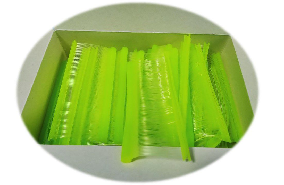 Fixpin Antifurto Pino Tag Colorido - 5000 Pinos - 40mm  verde Limao