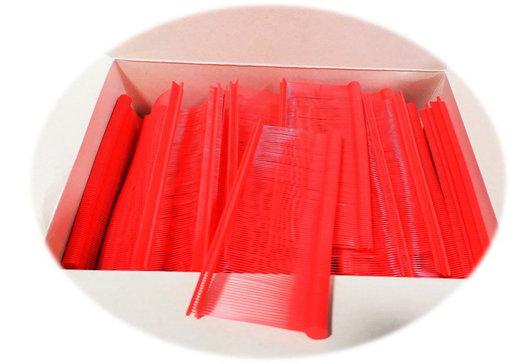 Fixpin Antifurto Pino Tag Colorido - 5000 Pinos - 40mm Vermelho