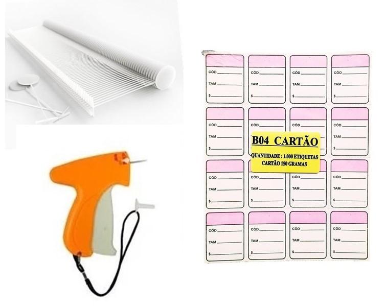 kit Aplicador  = 1000   Etiquetas Lilas + 1000  Pinos bola 40 mm  + 01  Aplicador com Agulha