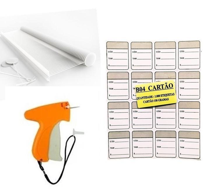 kit Aplicador  = 1000   Etiquetas Prata  + 1000  Pinos bola 40 mm  + 01  Aplicador com Agulha