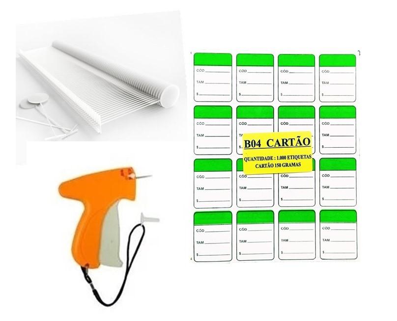 kit Aplicador  = 1000  Verde + 1000  Pinos bola 40 mm  + 01  Aplicador com Agulha