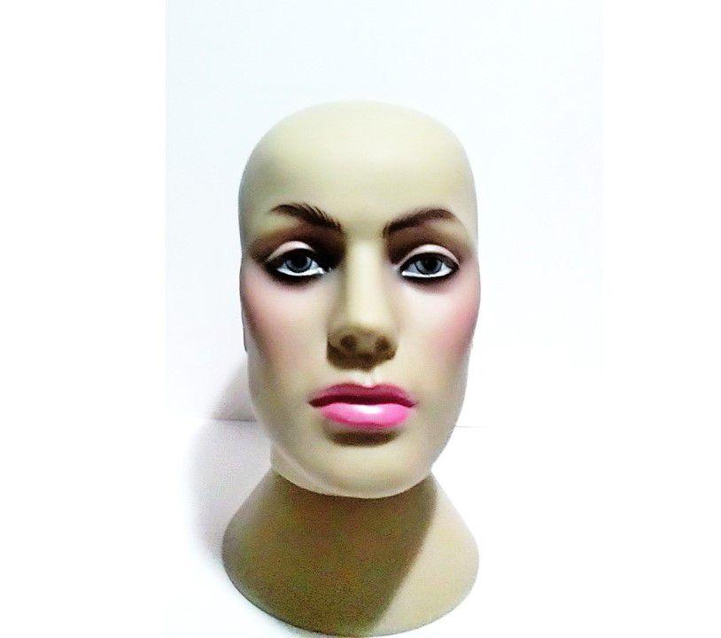 Manequim Cabeça feminino  Para perucas Toucas Chapéu  Mascara Suporte