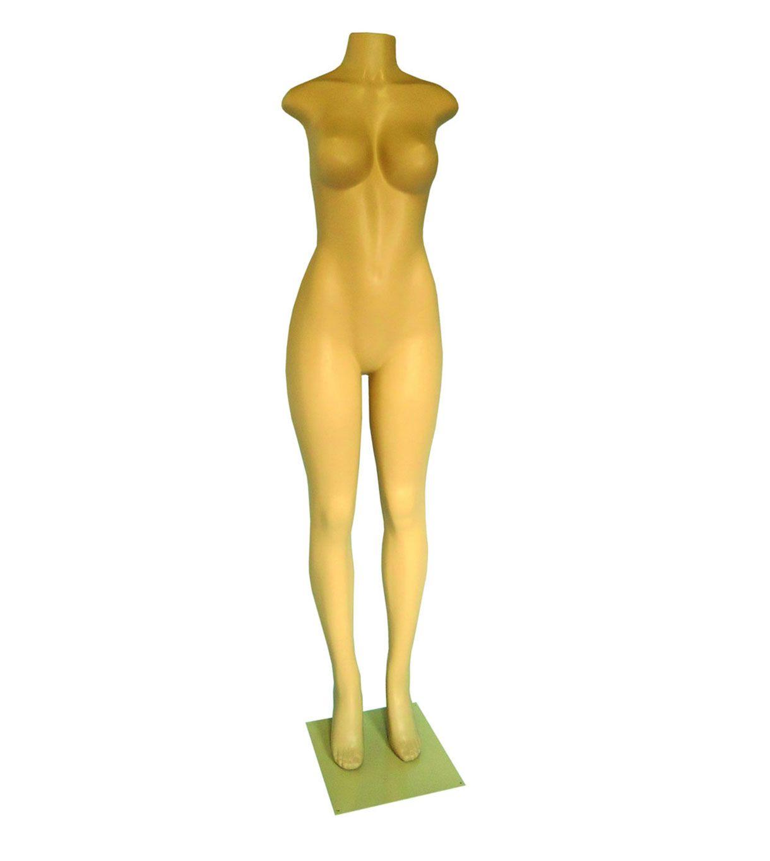 Manequim Feminino Corpo Inteiro  + Base  para  Fitness e Lingerie
