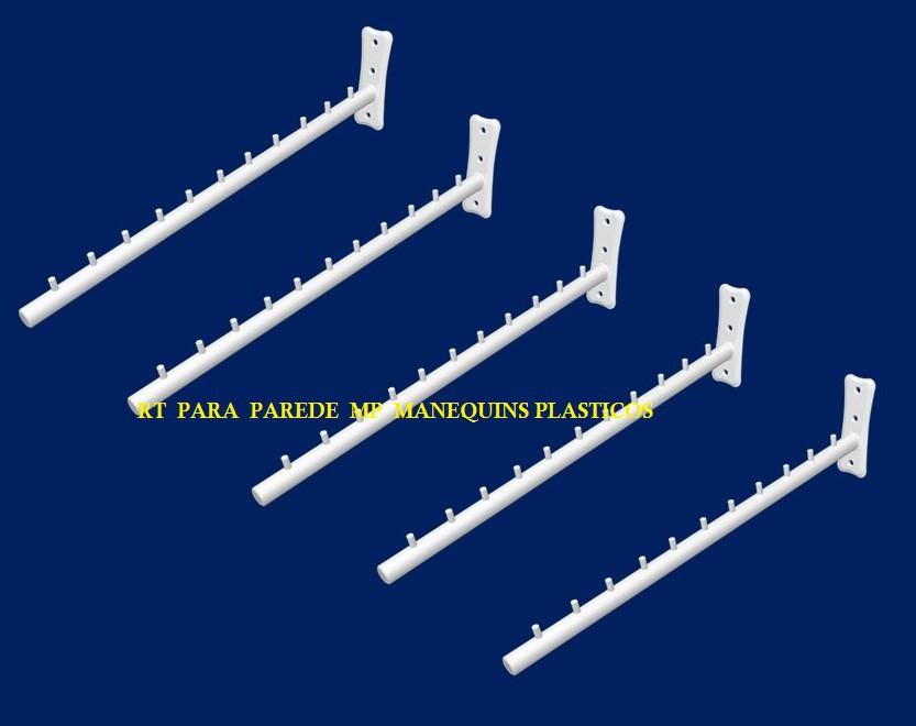Rt pop  Para Parede  Caixa com 10 unidades Branco  40  cm