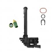 Carcaça Valvula Termostatica E Sensor Gol Fox 03/08 Ea111