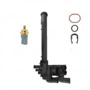 Carcaça Valvula Termostatica E Sensor Gol Fox Golf 09/ EA111