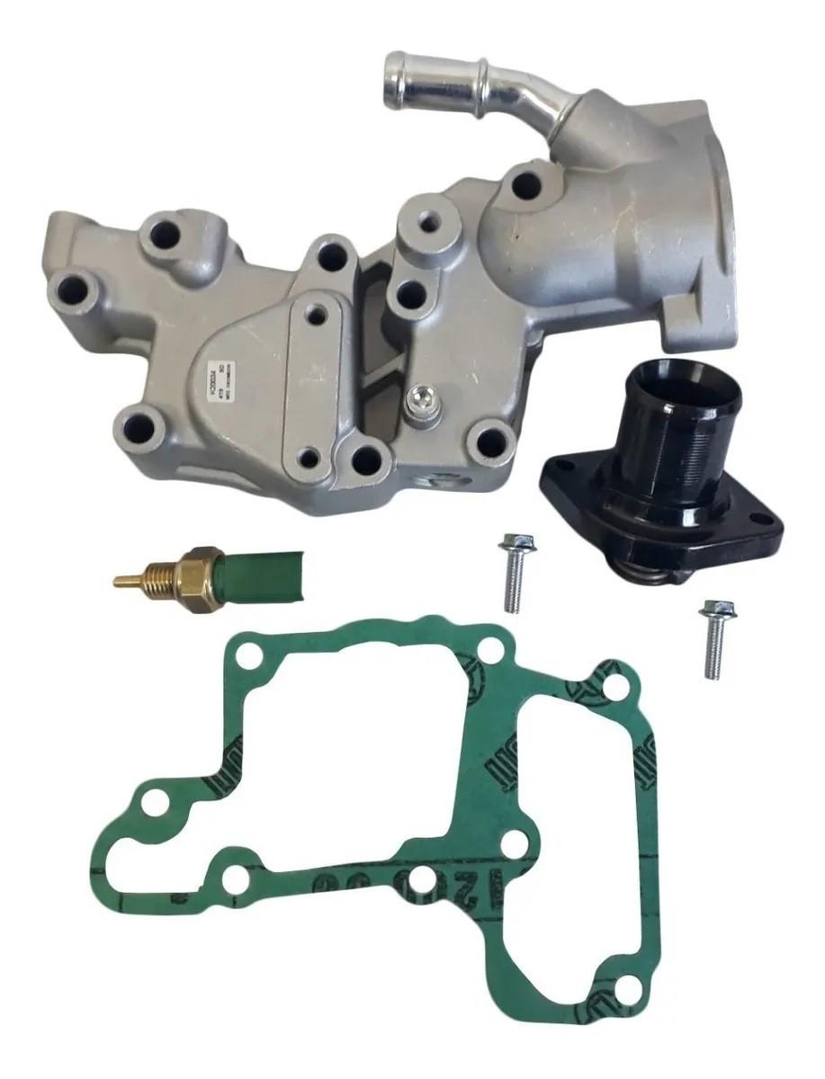 Válvula Termostática e Carcaça Peugeot 206 207 1.4