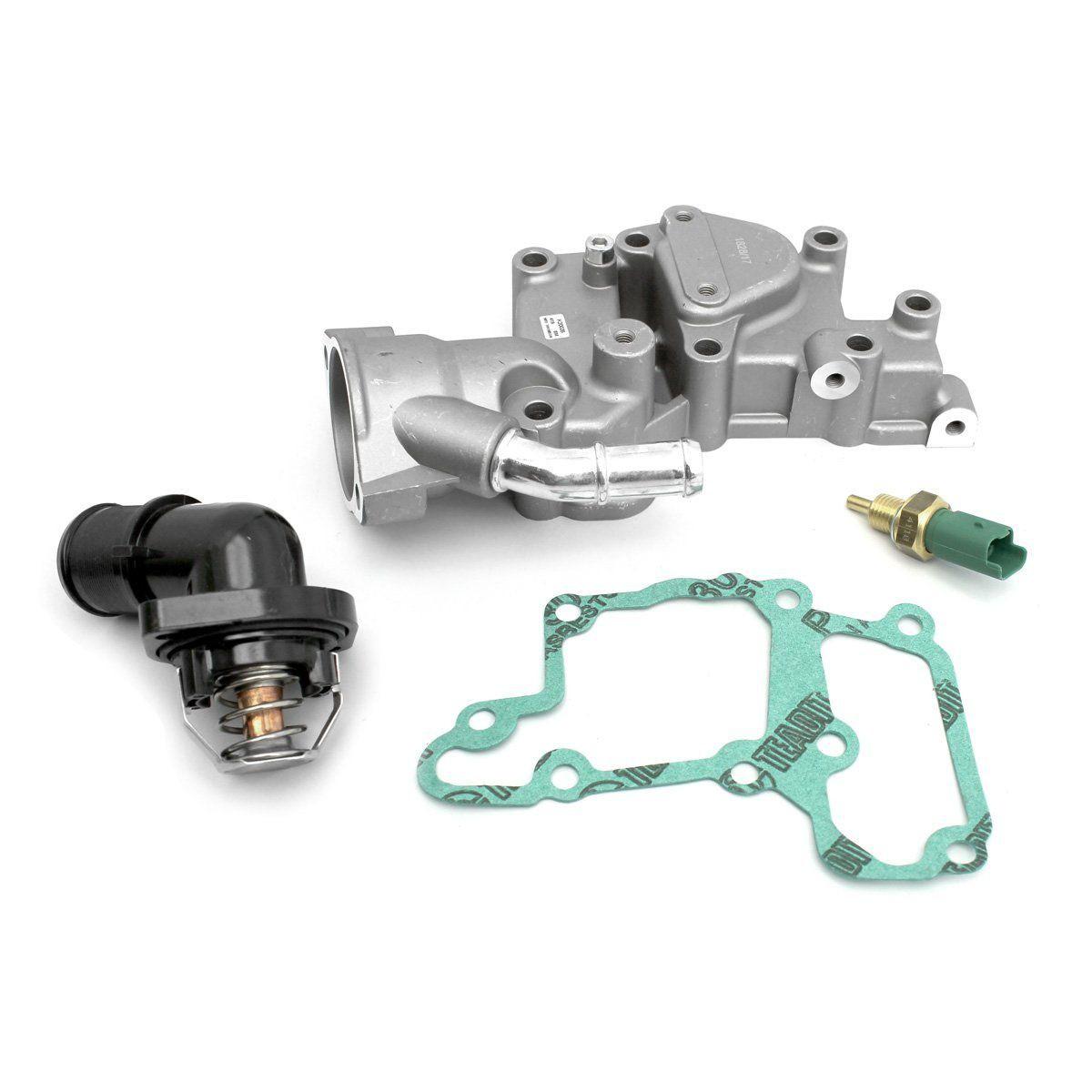 Válvula Termostática e Carcaça Peugeot 206 Citroen C3 1.4