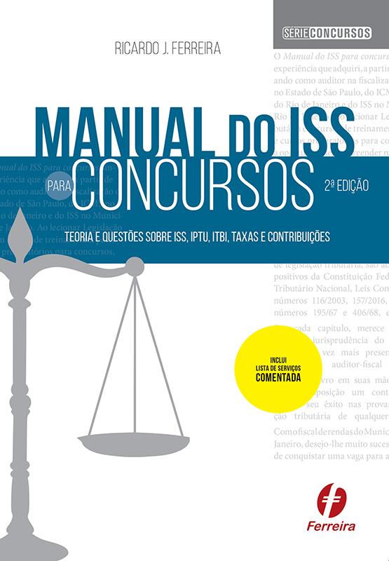 Manual do ISS para concursos
