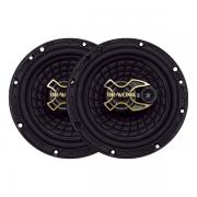 Alto falante 6 Polegadas Triaxial Bravox Gold B3x60 100W Rms