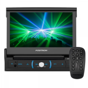 DVD Retratil Positron SP6730DTV 7 Polegadas Bluetooth/Aux/Sdcard
