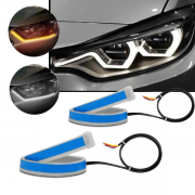 Fita LED Farol JR8 Flexível 30CM Dual Color