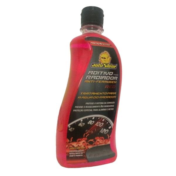 Aditivo Especial Orgânico Anti-Ferrugem P/ Radiador 1000 Ml - Autoshine (Vermelho)