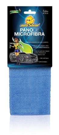 Flanela De Microfibra Azul Autoshine 40X40 00726